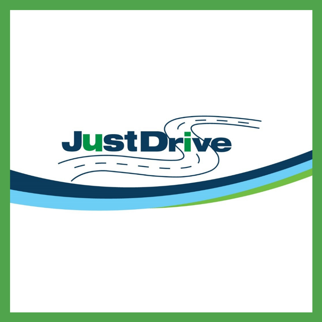 Just Drive graphic
